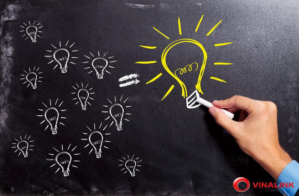 triển khai ý tưởng thành nhiều khả năng, sau đó thu hẹp chọn phương án tối ưu